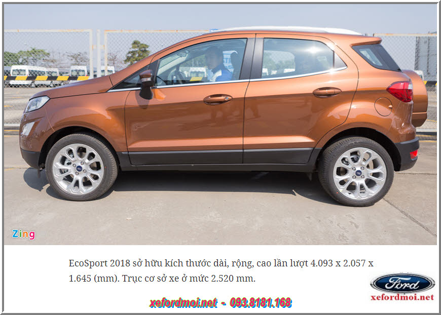 Bán Xe Ford Ecosport Mới 2018