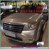 Ford Everest 2.5L MT 2009